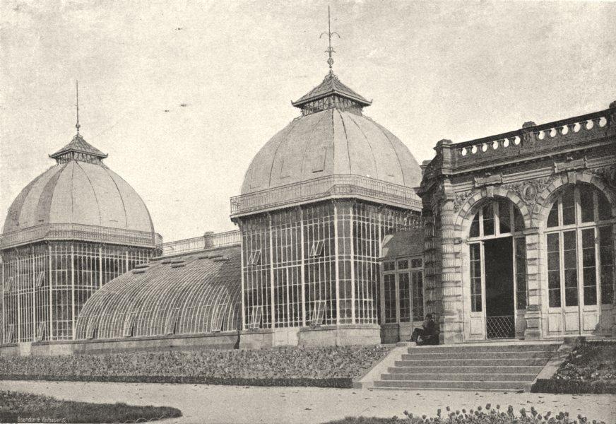 Associate Product ILLE- ET- VILAINE. Rennes. Serres du Thabor 1895 old antique print picture