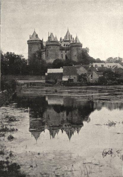 Associate Product ILLE- ET- VILAINE. Combourg. Chateau 1895 old antique vintage print picture
