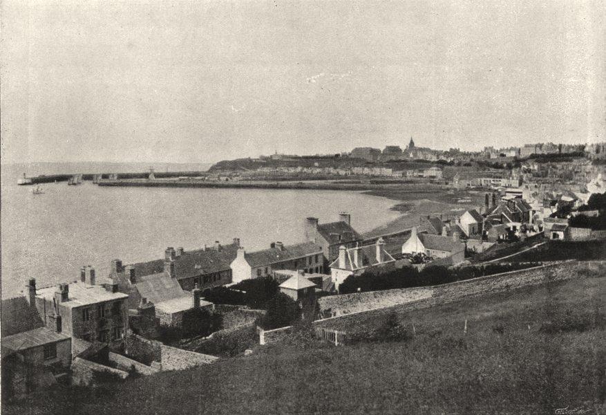 Associate Product MANCHE. Granville. de Mer 1895 old antique vintage print picture