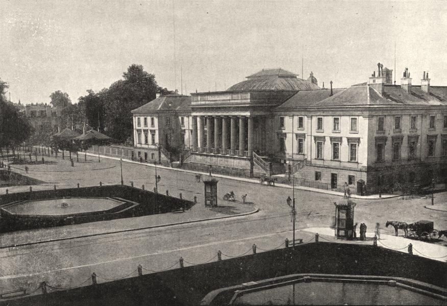 Associate Product FRANCE. Tours. Palais de Justice 1895 old antique vintage print picture
