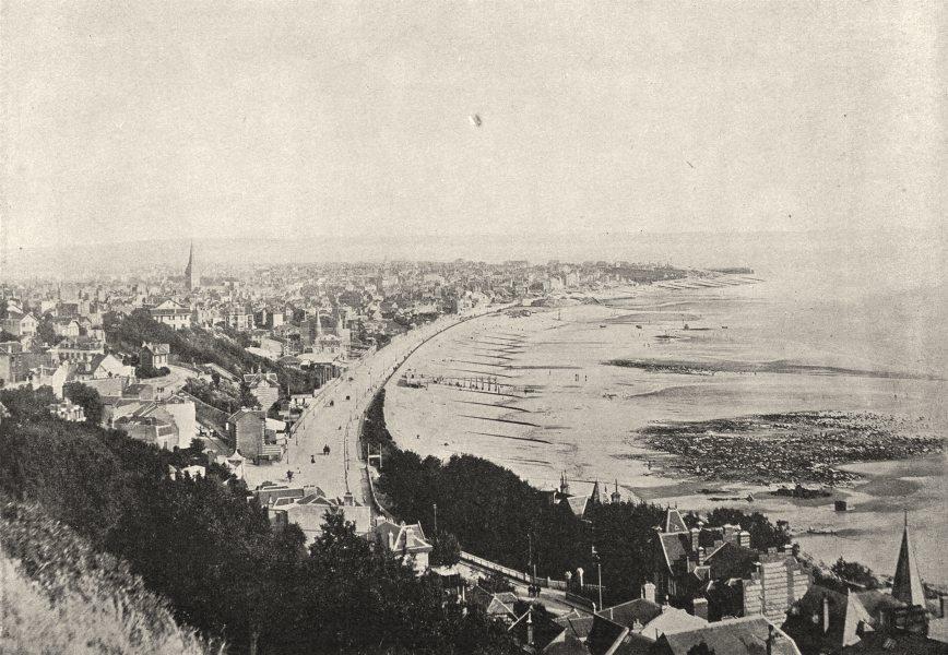 Associate Product SEINE- MARITIME. Le Havre. générale prise de Ste- Adresse 1895 old print