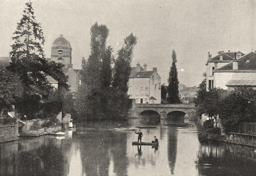 ORNE. St- Cenery. de Sarthe 1895 old antique vintage print picture