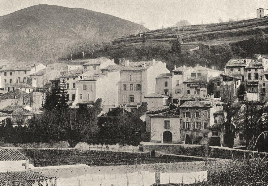 Associate Product RHÔNE. Dieu- le- fit (Rhone)  1895 old antique vintage print picture