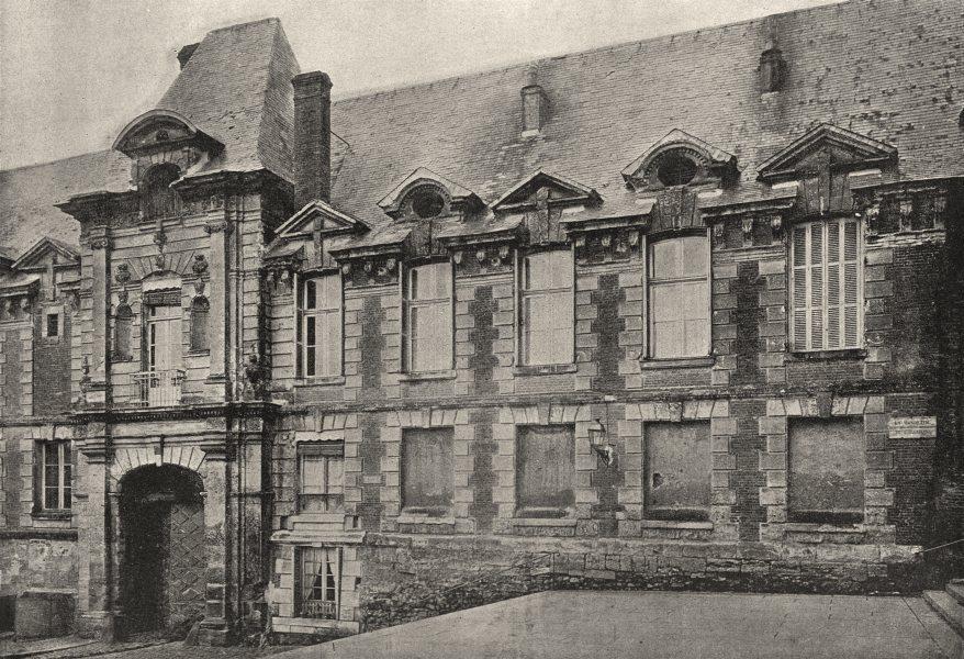 Associate Product CALVADOS. Lisieux. Ancien Évêché 1895 old antique vintage print picture