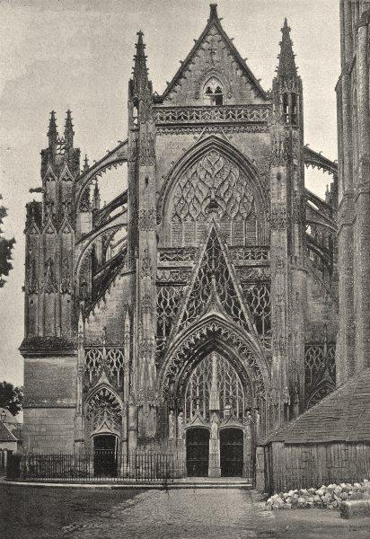 Associate Product LOIR- ET- CHER. Vendôme. Eglise de Trinité 1895 old antique print picture