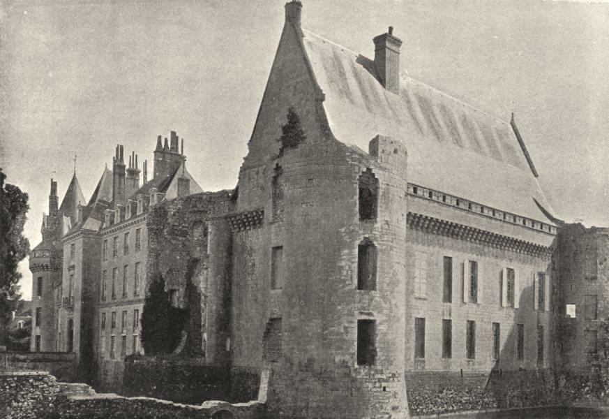 Associate Product LOIRET. Sully- sur- Loire. Chateau 1895 old antique vintage print picture