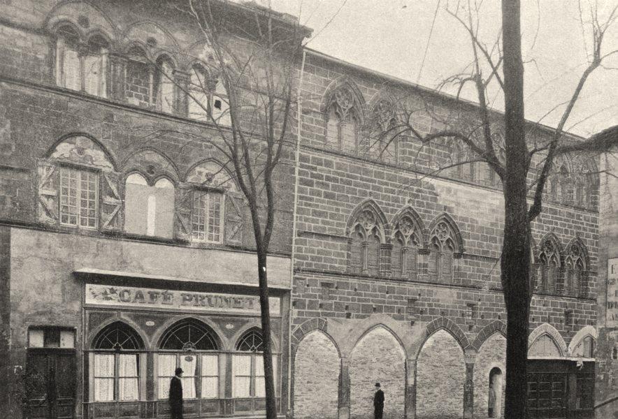 Associate Product TARN. Cordes. Maison du Veneur 1895 old antique vintage print picture