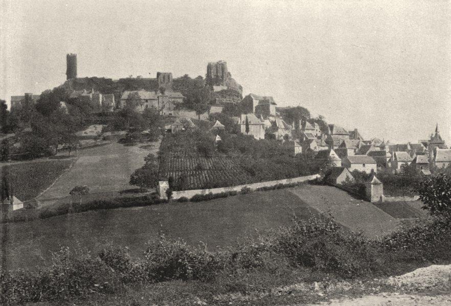 Associate Product CORRÈZE. Turenne 1895 old antique vintage print picture