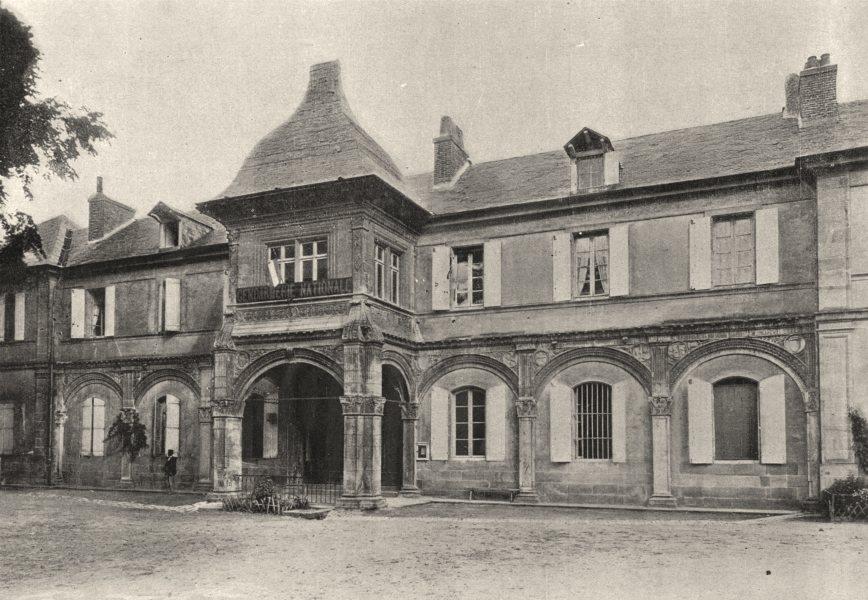 Associate Product FRANCE. Moulins. Ancien Chateau 1895 old antique vintage print picture