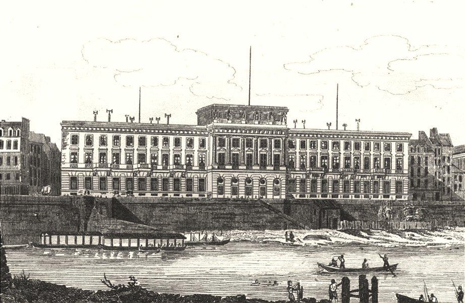 Associate Product FRANCE. Hotel des Monnaies 1835 old antique vintage print picture