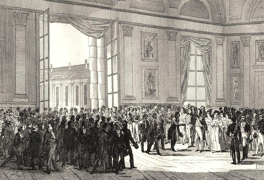 Associate Product FRANCE. Distribution des recompenses accordées a L'Industrie 14 July 1834 1835