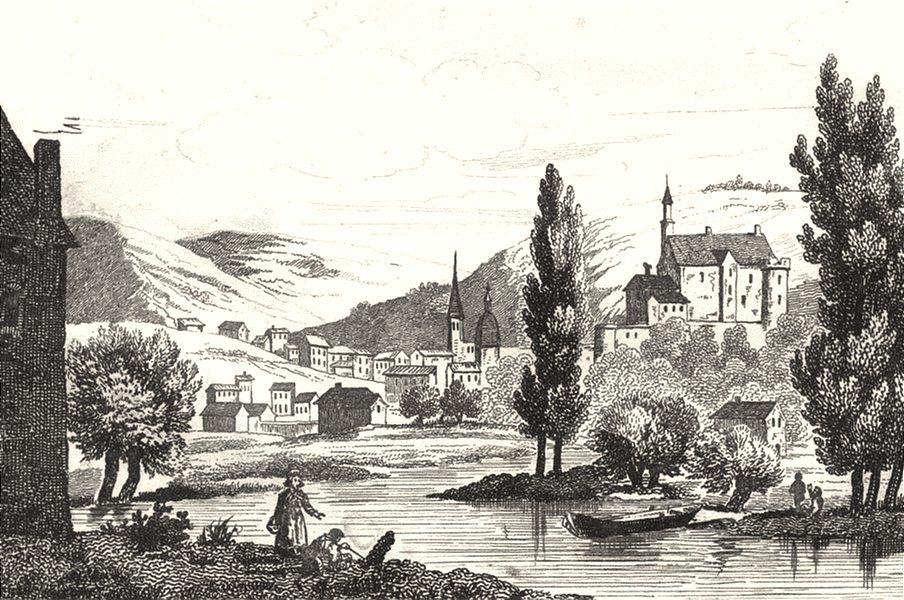 Associate Product ALLIER. Montluçon 1835 old antique vintage print picture