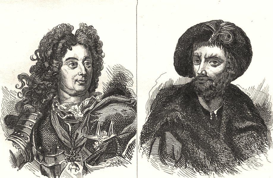 Associate Product ALLIER. Le Mal de Villars; Le e ble de Bourbon 1835 old antique print picture