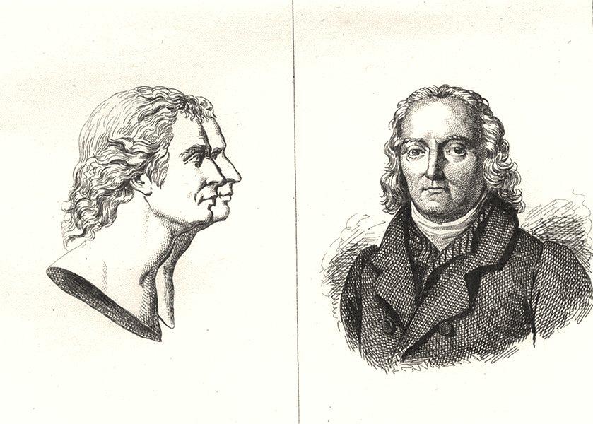 Associate Product ARDÈCHE. Etienne et Joseph Montgolfier; Boissy d'Anglas 1835 old antique print