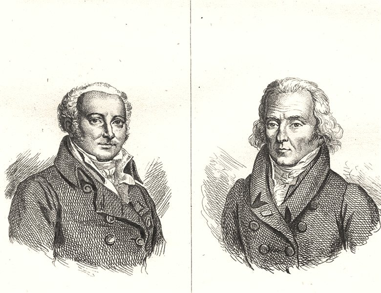 ARDENNES. Corvisart; Lefevre Ginean 1835 old antique vintage print picture