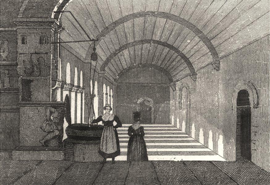 BOUCHES-DU-RHÔNE. Marseille. Cloitre de Ste Trophime Arles 1835 old print