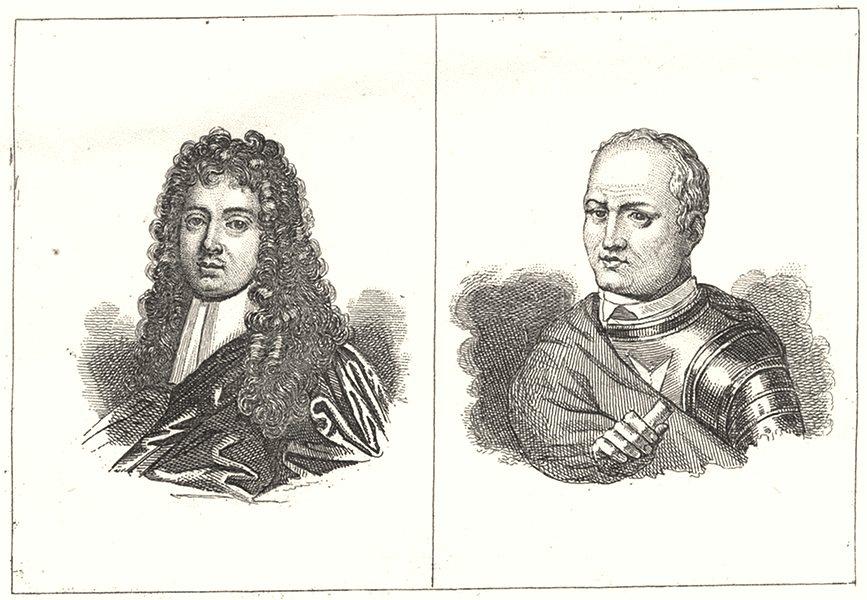 Associate Product CREUSE. Quinault; Pierre d'Aubusson 1835 old antique vintage print picture