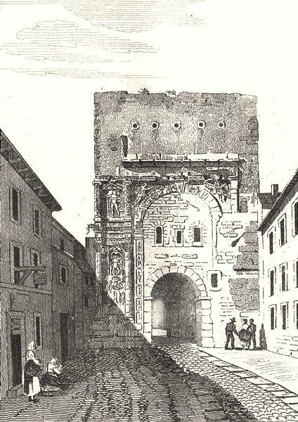 Associate Product DOUBS. Porte Noire 1835 old antique vintage print picture
