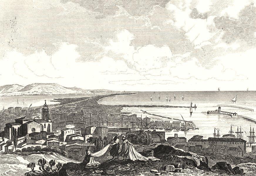 Associate Product HÉRAULT. Cette 1835 old antique vintage print picture