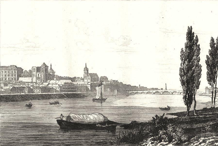 Associate Product LOIR-ET-CHER. Blois 1835 old antique vintage print picture