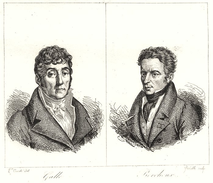 Associate Product LOIRE. Galle; Berchoux 1835 old antique vintage print picture