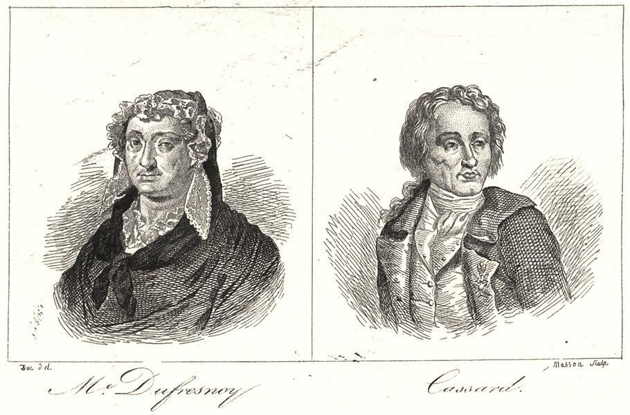 LOIRE-ATLANTIQUE. -Inférieure. Mc. Dufresnoy; Cassard 1835 old print