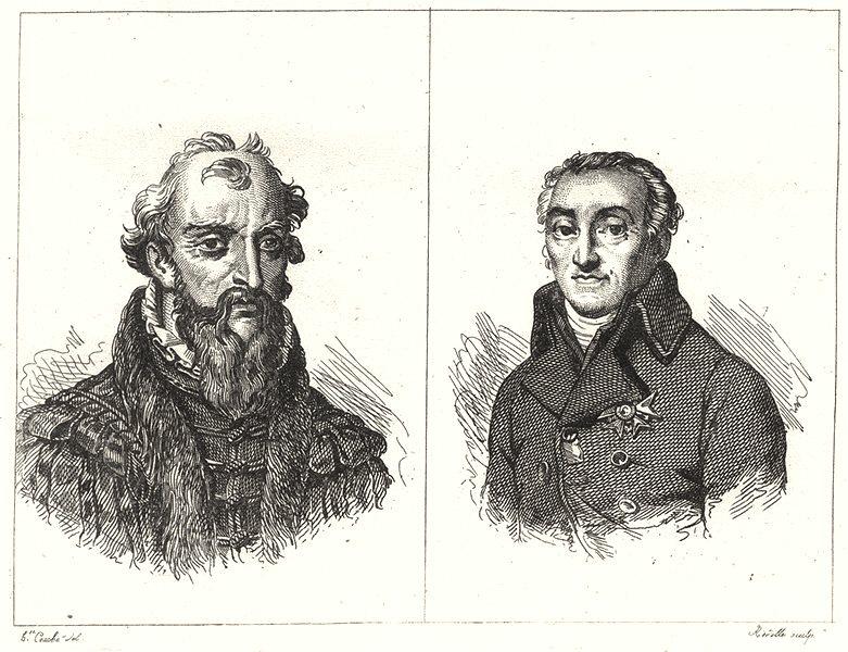 Associate Product LOT-ET-GARONNE. Bernard Palissy; Lacépède 1835 old antique print picture