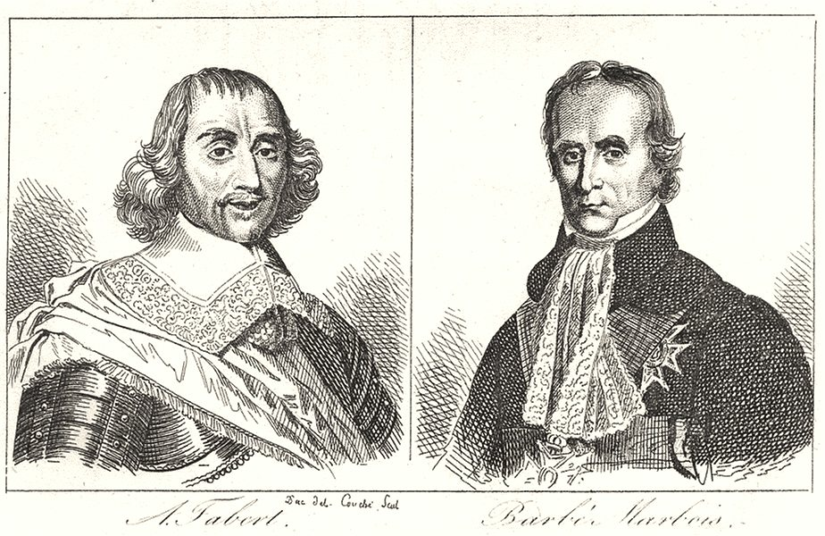 Associate Product MOSELLE. A. Fabert; Barbé Marbois 1835 old antique vintage print picture