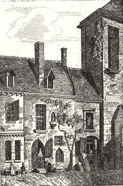 Associate Product NIÈVRE. Maison de Maître Adam 1835 old antique vintage print picture