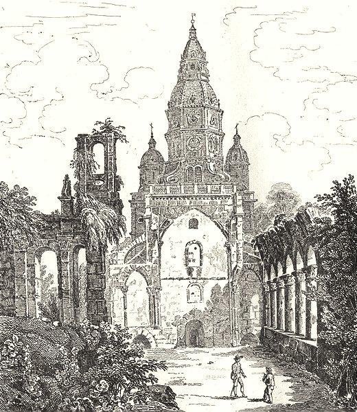 Associate Product NORD. Saint-Amand 1835 old antique vintage print picture