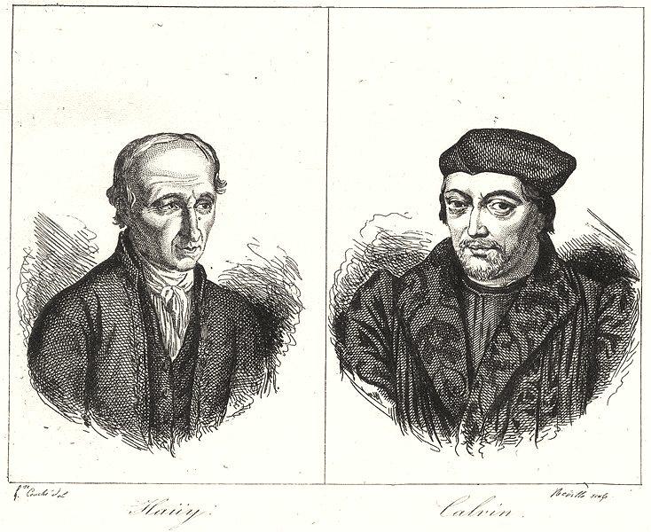 Associate Product OISE. Haiiy; Calvin 1835 old antique vintage print picture