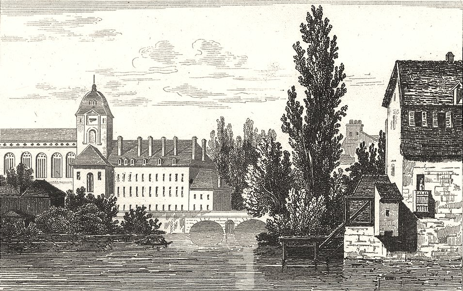 Associate Product ORNE. Alençon 1835 old antique vintage print picture