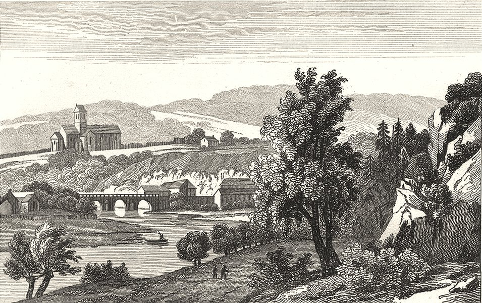 Associate Product ORNE. St. Lenen le Gerei 1835 old antique vintage print picture