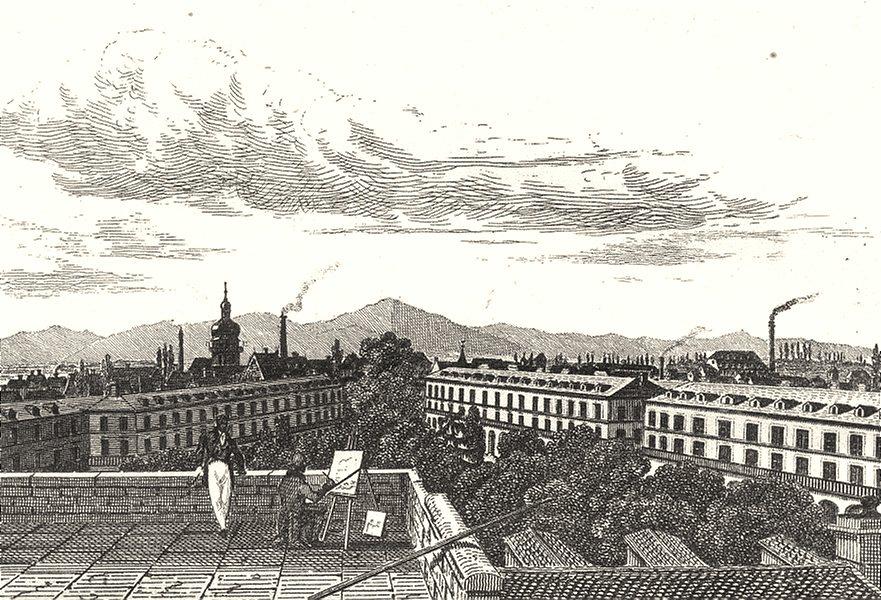 Associate Product HAUT-RHIN. Mulhouse 1835 old antique vintage print picture
