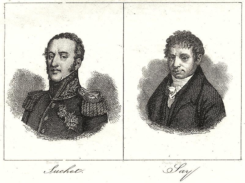 Associate Product RHÔNE. Suchet; Jay 1835 old antique vintage print picture