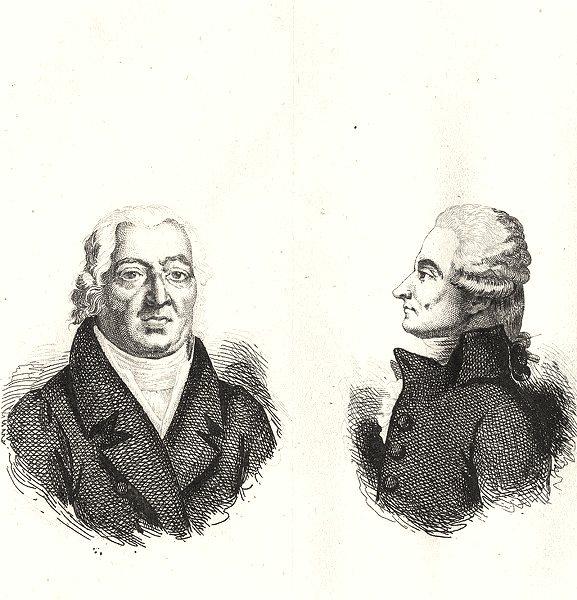 Associate Product HAUTE-SAÔNE. Percy; Toulongeon 1835 old antique vintage print picture