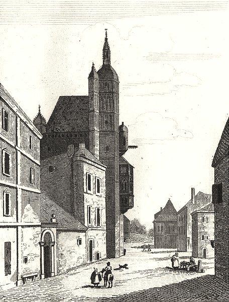 Associate Product HAUTE-SAÔNE. Hôtel De Ville de Luxeuil 1835 old antique vintage print picture