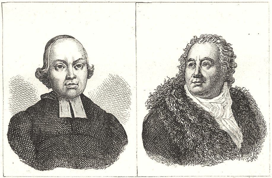Associate Product SEINE-ET-OISE. L' Abbe l'epée; Duces 1835 old antique vintage print picture