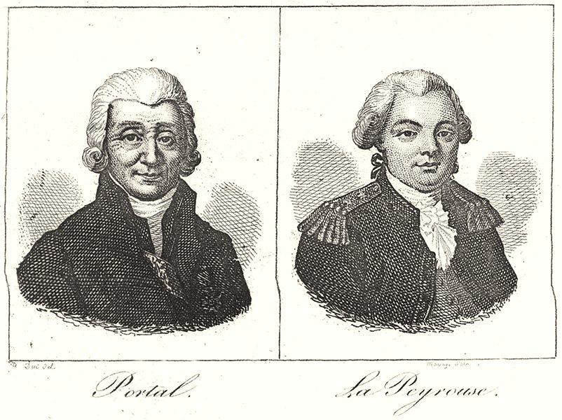 Associate Product TARN. Portal; La Peyrouse 1835 old antique vintage print picture