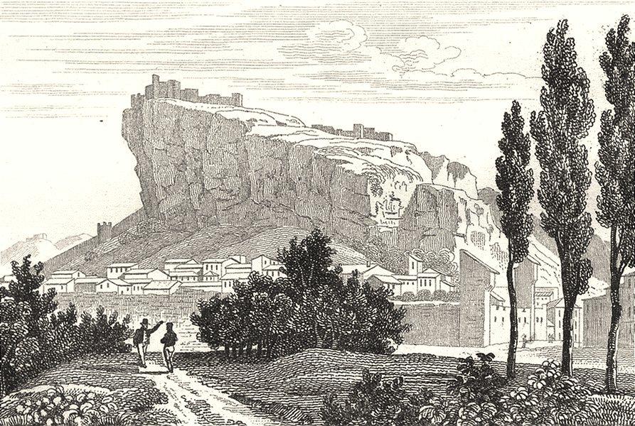 Associate Product VAR. Chateau de Mornas 1835 old antique vintage print picture