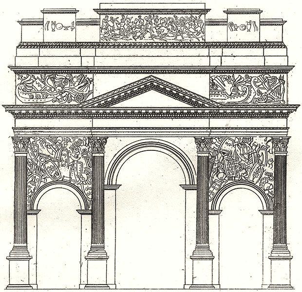 Associate Product VAUCLUSE. Are d'Orange 1835 old antique vintage print picture