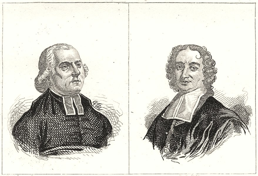 Associate Product VAR. Maury; Flechier 1835 old antique vintage print picture