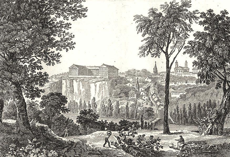 Associate Product VENDÉE. Bourbon Vendée 1835 old antique vintage print picture