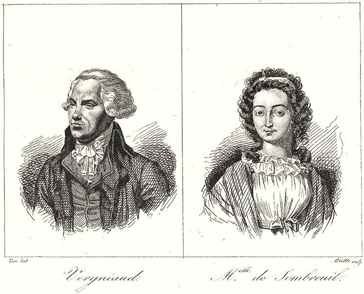 Associate Product HAUTE-VIENNE. Vergniaud; Melleu Sombreuil 1835 old antique print picture