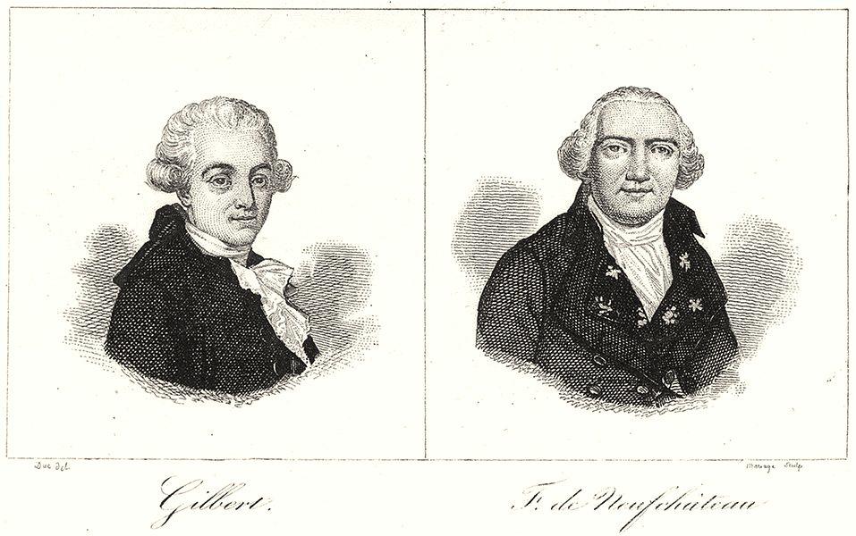 Associate Product VOSGES. Gilbert; F. de Neufchâteau 1835 old antique vintage print picture