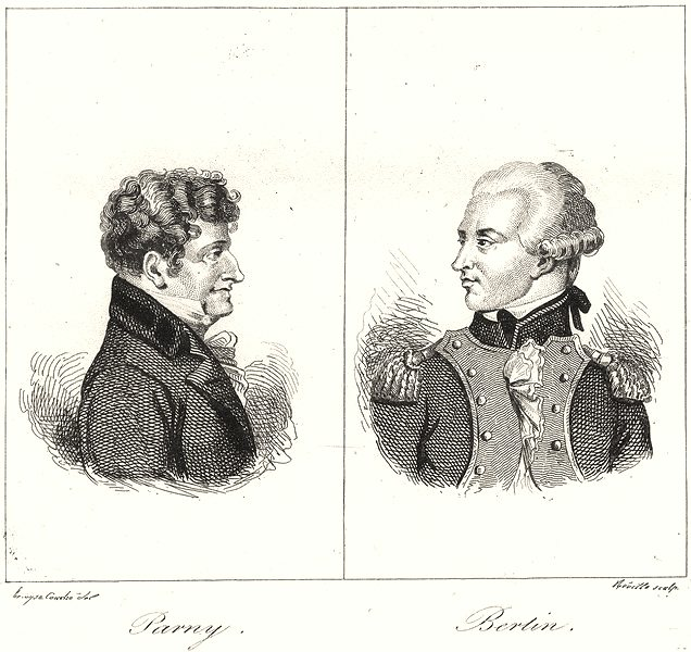 Associate Product RÉUNION. Île Bourbon (Reunion) . Parny; Berlin 1835 old antique print picture