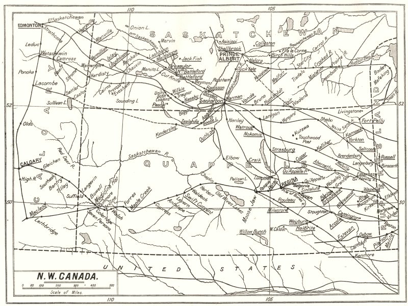 Associate Product CANADA. North West Canada; Diocesan Anglican missions 1922 old vintage map