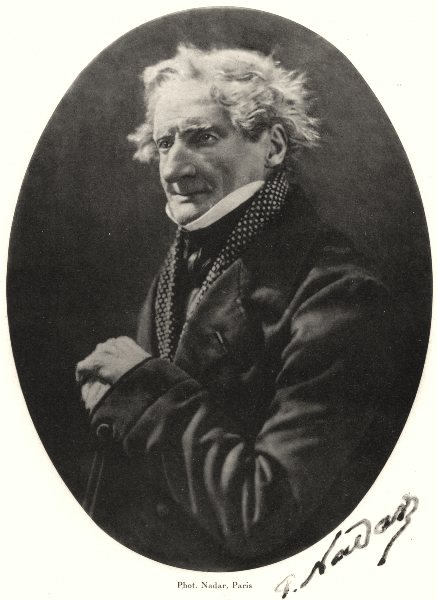 Associate Product KINGS. Portrait of painter Luc-Charles Cicéri, c.1865 1935 old vintage print