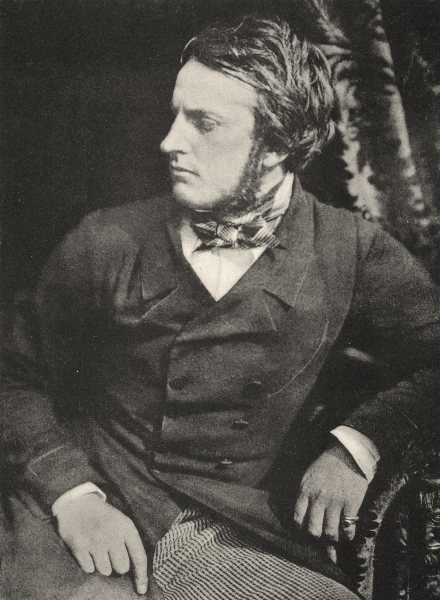 Associate Product PORTRAITS. Portrait of Lord Elcho, 1845- 1859 1935 old vintage print picture