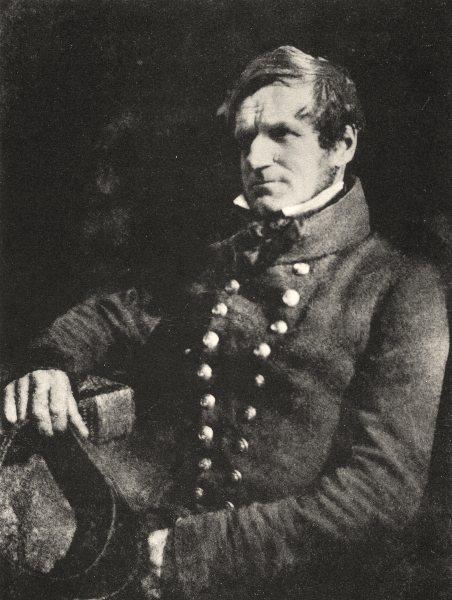 Associate Product PORTRAITS. Portrait of a French infantryman, 1845- 1850 1935 old vintage print